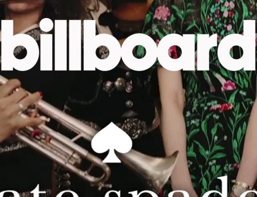Billboard: Kate Spade Takes 'A Mariachi Subway Ride' With Flor de Toloache