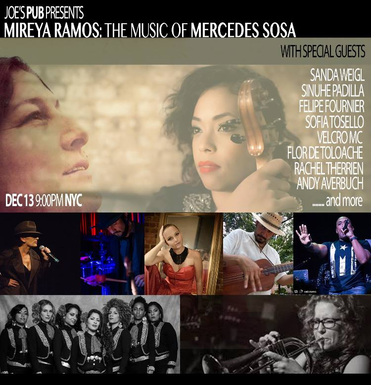 Mireya Ramos: The Music of Mercedes Sosa with special guests